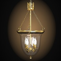Bronze d art 973 classic latern pendant chandelier lamp glass