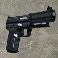 3d gun seven model