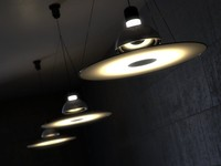 maya castiglioni frisbi suspension lamp