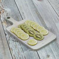 3d lemon kiwi model