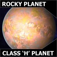 alien planet class h 3d max