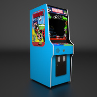 Mario Bros. Arcade Low Poly