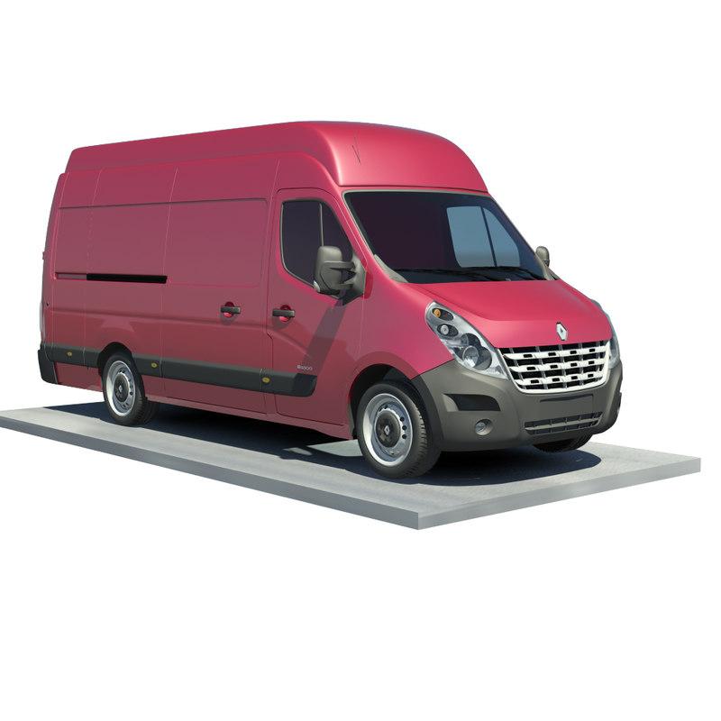 3d renault master l3h3 traction model. Black Bedroom Furniture Sets. Home Design Ideas