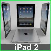 apple pad 2 3d max