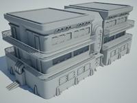 max futuristic sci fi building
