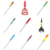 fireworks rockets 3d model