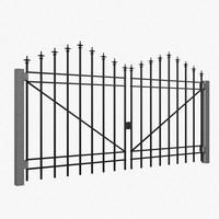 iron gate 3d max