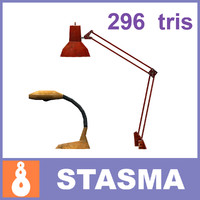 free 3ds mode 2 office lamps