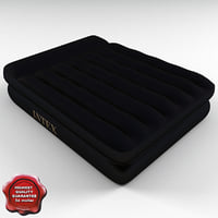 air bed mattress intex 3d model