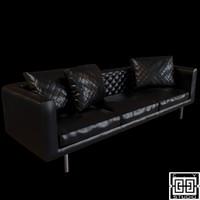 smoke sofa 3d max