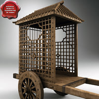 Chinese Wooden Cart