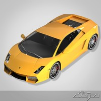lamborghini gallardo 3d model