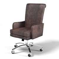 SMANIA ROLLER modern contemporary leather office swivel chair executive
