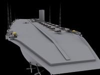 ship military 3d max