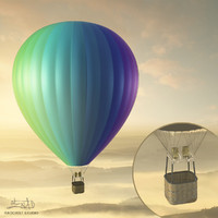Balloon - hot air 03 (HIGH resolution)