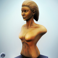 maya female bust