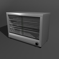 3d hot cupboard pie model
