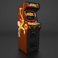 3d 1982 arcade cabinet model