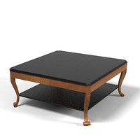selva classic contemporary modern art deco  coffee cocktail table 3694