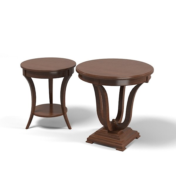 Selva classic traditional 3d 3ds Traditional coffee tables and end tables