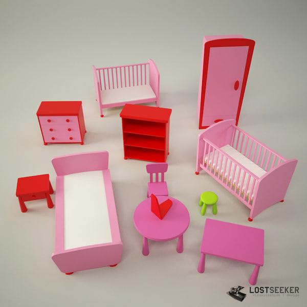 3d set mammut model. Black Bedroom Furniture Sets. Home Design Ideas