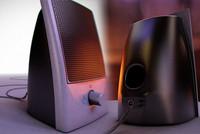 3d obj desktop speaker