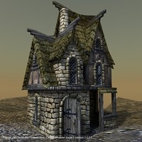 lightwave medieval house