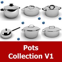 3dsmax pot cookware