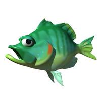 3d model fish
