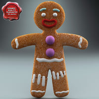 maya gingerbread man static