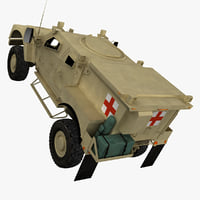3d m-atv tactical ambulance