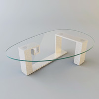 glass table 3d max