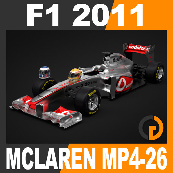 F1 2011 McLaren MP4-26 - Vodafone Mercedes