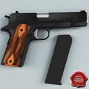 Remington 1911 3D models