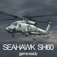 SH-60 Seahawk with Translucent Rotor Disk