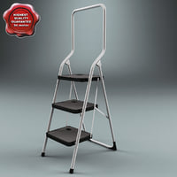 3ds max step ladder v2