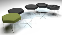 3d naughtone pollen set table