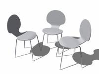 3d chaise fourmie fly