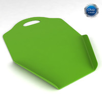 chopping board 3d model
