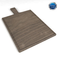 3d model chopping board