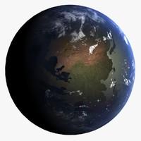 3d eocene earth