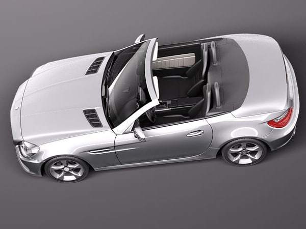 3d mercedes benz slk 2012 - Mercedes SLK 2012... by squir