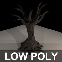 Lowpoly Dead Tree