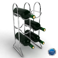 3ds max wine rack