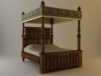 Antique Canopy Bed