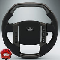 Land Rover Steering Wheel