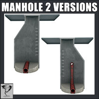 Manhole - 2 Versions