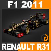 F1 2011 Renault R31 - Lotus Renault GP