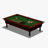 3d billiard pool