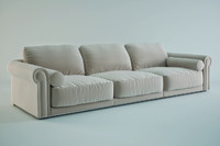 sofa paul longhi 3d model